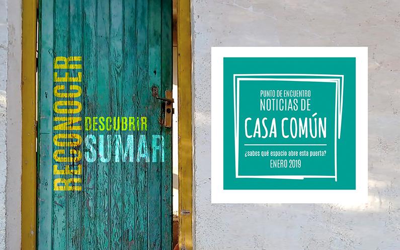 Casa Común. Enero 2019